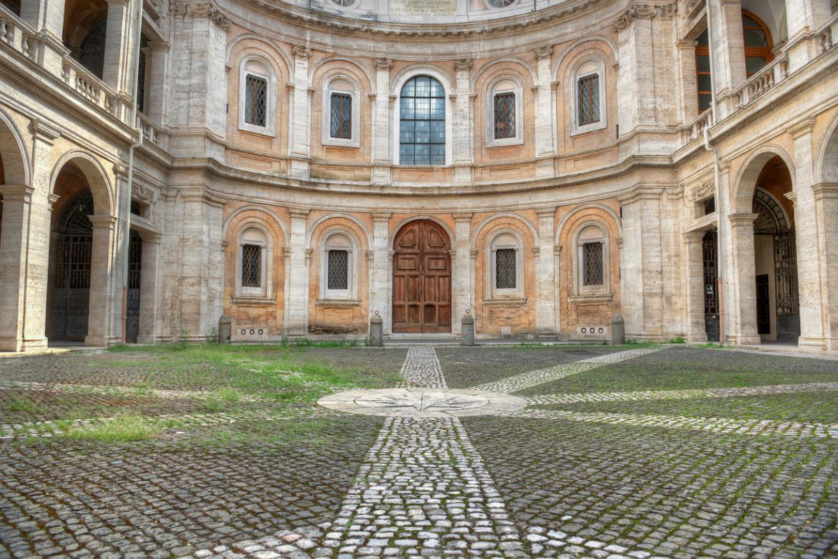 Sant'Ivo alla Sapienza - Saint Yves at the Sapienza Courtyard