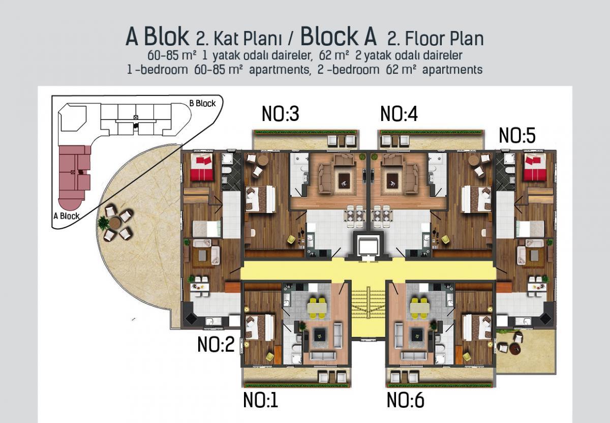 A Blok 2. kat