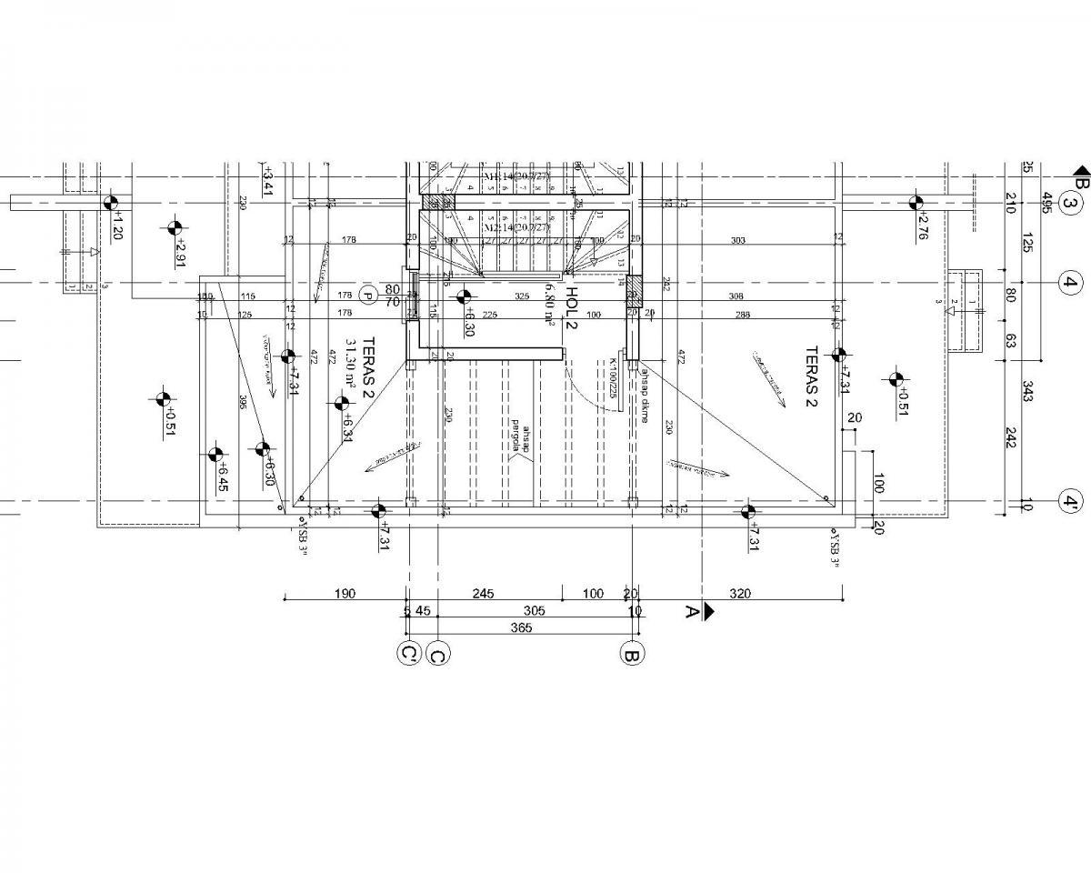 G-Right Terrace Floor Plan
